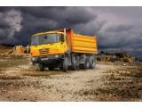 Строительство Tatra 8x8 С ТРЕХСТОРОННЕЙ РАЗГРУЗКОЙ
